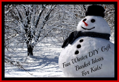 winterthemegiftbasketforchildren